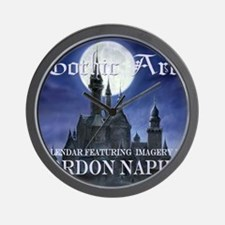 2-Gothic_Castle for broad calcov Wall Clock