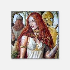 """Boudica squ Square Sticker 3"""" x 3"""""""
