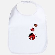 Ladybugs Bib