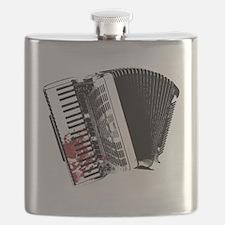 Bloody Accordion Flask