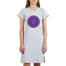 E8_Blue_1 Women's Nightshirt