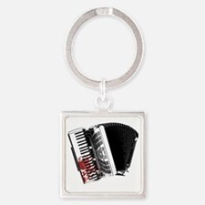 Bloody Accordion Square Keychain