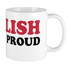 Polish and Proud Sticker Mug