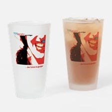 kool-aid front cover t-shirt Drinking Glass