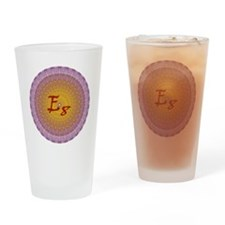 E8_Gold Drinking Glass