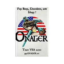 Onager Team USA calendar Rectangle Magnet