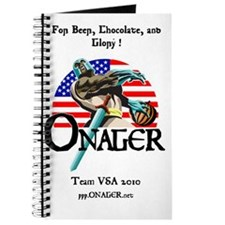 Onager Team USA calendar Journal