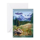Colorado mountains Greeting Cards