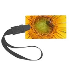 SunflowerBFramedPanelPrint Luggage Tag