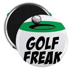Golf Freak Magnet