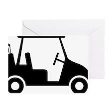 Golf Cart 01 Greeting Card
