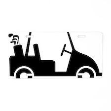 Golf Cart 01 Aluminum License Plate