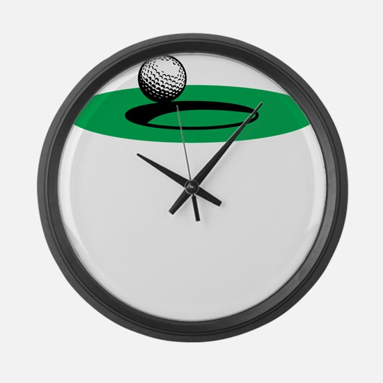 Golf Freak copy Large Wall Clock