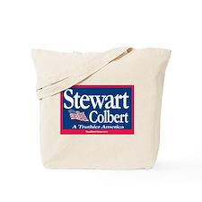 """""""Stewart-Colbert '08"""" Tote Bag"""