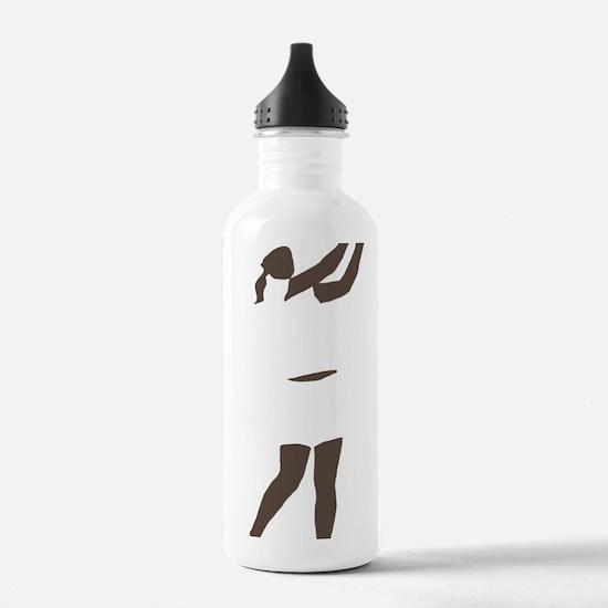 Golfer 12 copy Water Bottle