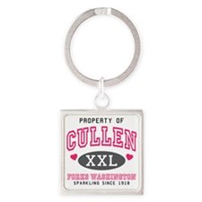 Cullen Thong Square Keychain
