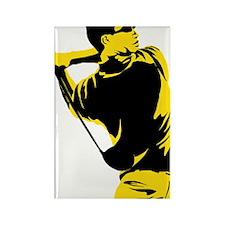 Golfer 20 Rectangle Magnet
