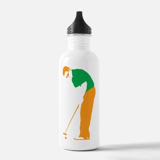 Golfer 21 copy Water Bottle