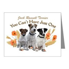 Jack Russell Cant Have Just  Note Cards (Pk of 10)