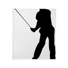 Golfer 36 Throw Blanket