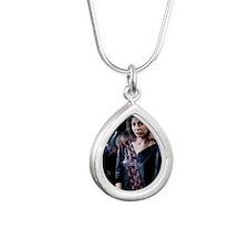 Jennifer_Rush_80er__1588 Silver Teardrop Necklace
