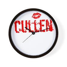 Cullen Thing dk Wall Clock