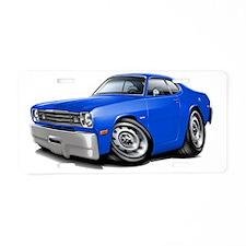 1970-74 Duster Blue Car Aluminum License Plate