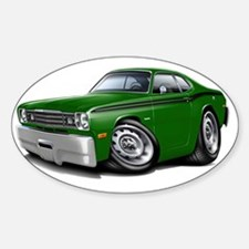 1970-74 Duster Green-Black Car Decal
