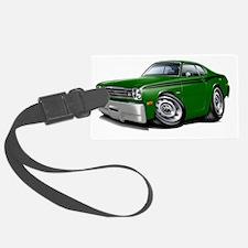 1970-74 Duster Green-Black Car Luggage Tag