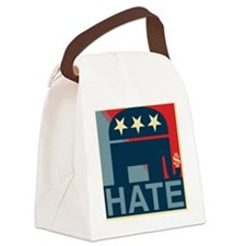 Hate-Gop Canvas Lunch Bag