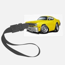 1970-74 Duster Yellow Car Luggage Tag