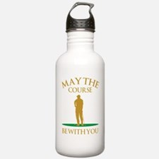 May The Course Be With Water Bottle