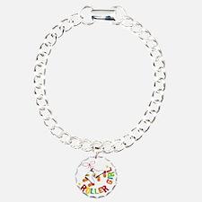 Roller Skate Girl Bracelet