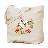 Roller girl Canvas Totes