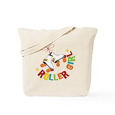 Roller Skate Girl Tote Bag