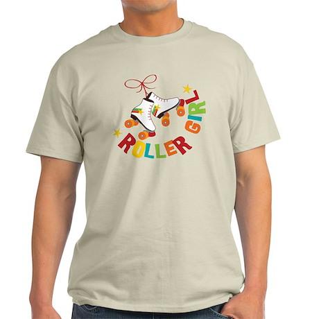 Roller Skate Girl Light T-Shirt