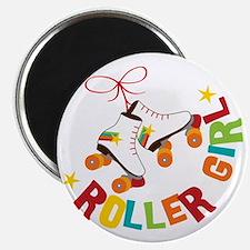 Roller Skate Girl Magnet