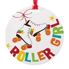 Roller Skate Girl Ornament