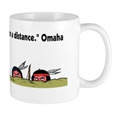 Brave from a distance40x15 Mug