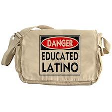 danger educated latino copy Messenger Bag