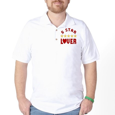 5 Star Lover Golf Shirt