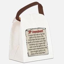 28thAmend Canvas Lunch Bag