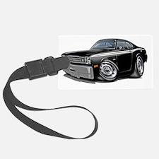 1970-74 Duster Black-White Car Luggage Tag