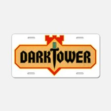 darktower1 Aluminum License Plate