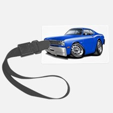 1970-74 Duster Blue-White Car Luggage Tag