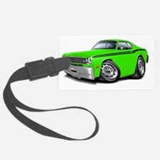 1970-74 Duster Lime-Black Car Luggage Tag