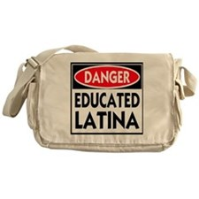 DANGER EDUCATED -- T-Shirt Messenger Bag