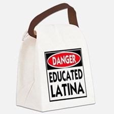 DANGER EDUCATED -- T-Shirt Canvas Lunch Bag