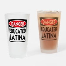 DANGER EDUCATED -- T-Shirt Drinking Glass