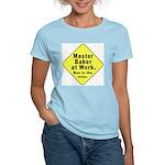 Master Baker - Bun in the Oven Women's Pink T-Shir